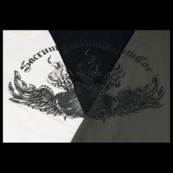 T shirt Sacrum Cor Borchie